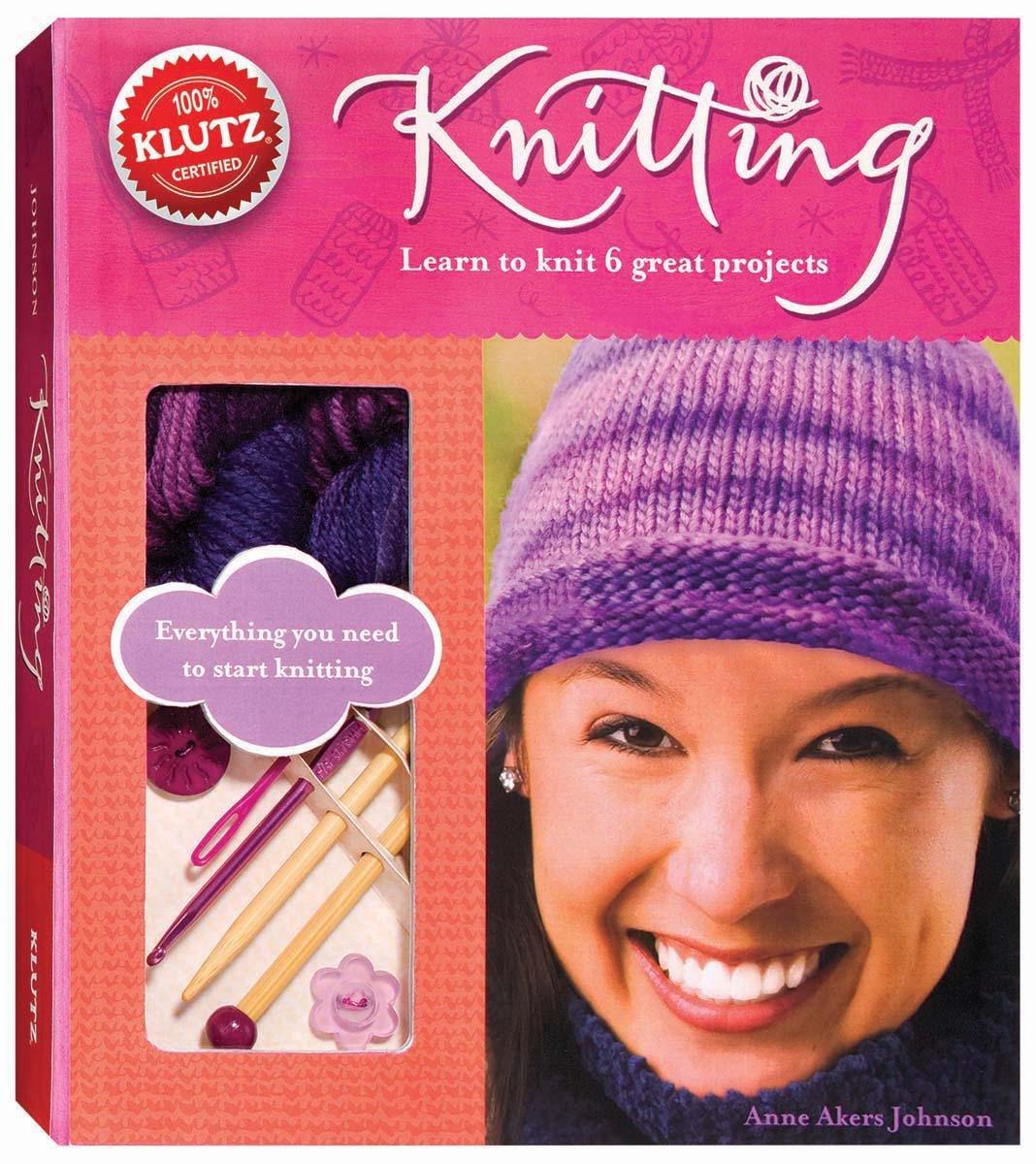 Klutz Knitting Book Akers Johnson