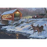 Rivers Edge Products 24 x 16 LED Wall Art Boat Rides