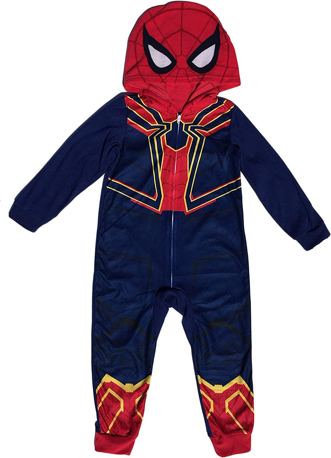 Spiderman No Feet Blanket Sleeper Pajamas Size/'s  8-10//12