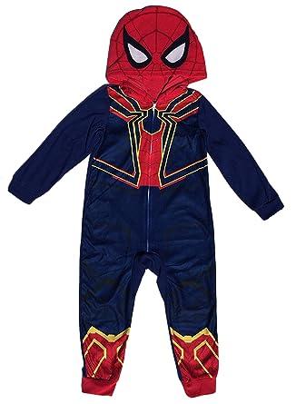 Amazon.com: Avengers Spider-Man Iron Spider - Traje para ...