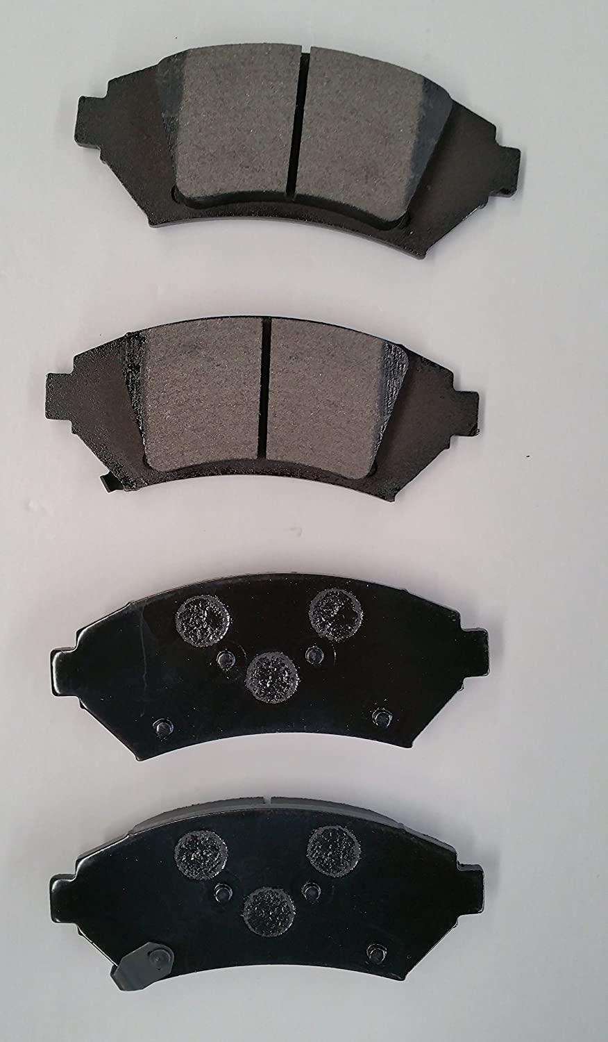 04 05 Fit Subaru Forester w//Rear Disc OE Replacement Rotors M1 Ceramic Pads R