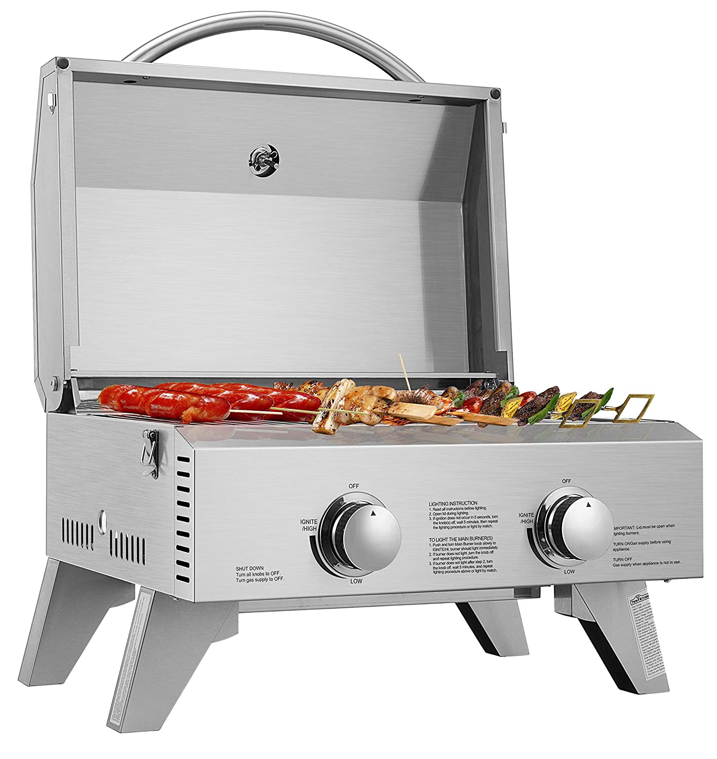 Vivo Home Stainless Steel Gas Grill