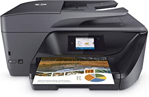 HP OfficeJet Pro 69Series Color Inkjet All-in-One Wireless Printer - 4-in-1 Print, Scan, Copy, Fax for Office - Instant Ink Ready - 2.65