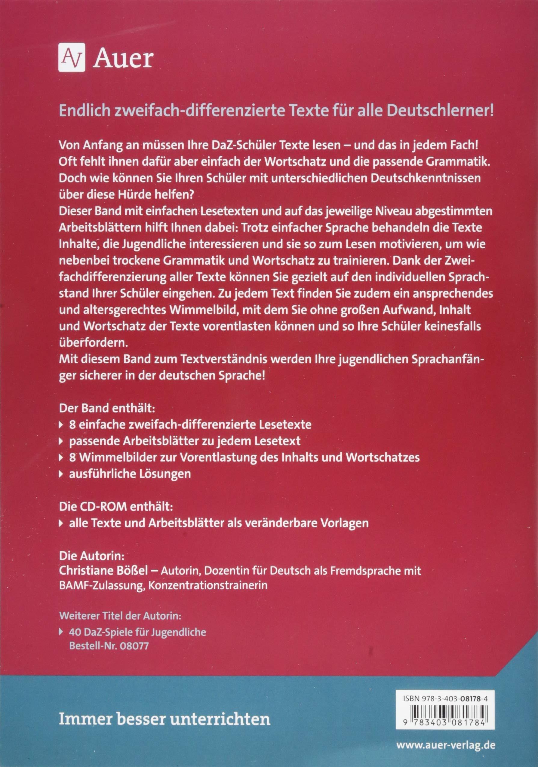 leseverstehen deutsch lernen t deutsch german und. Black Bedroom Furniture Sets. Home Design Ideas
