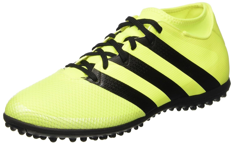 Adidas Herren Ace 16.3 Primemesh Tf Fußballschuhe, Core schwarz Solar Yellow