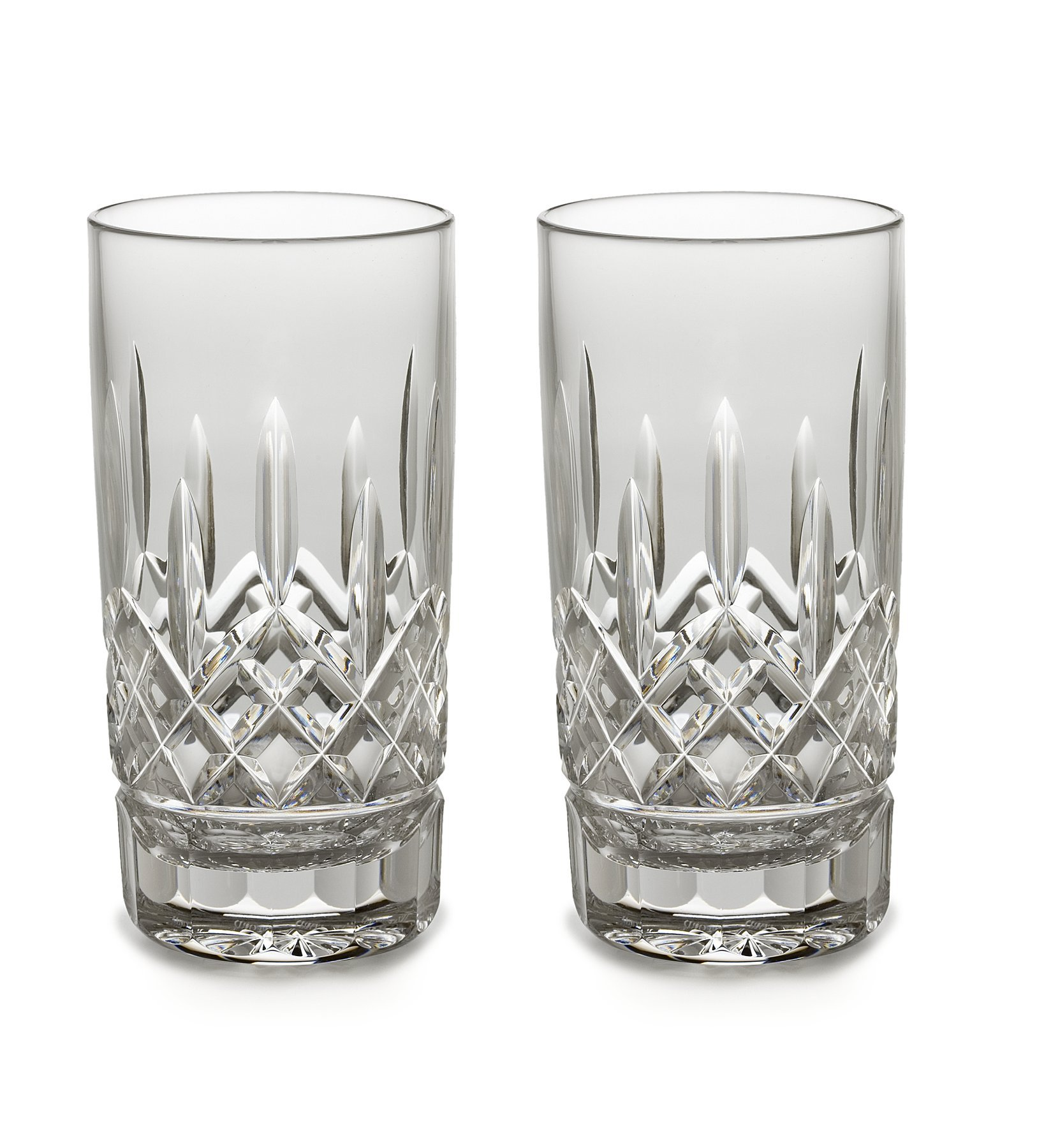 Waterford Lismore High Ball Pair, 12-Ounce by Waterford  Crystal
