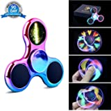 Top Race Fidget Spinner Finger Spinner Toy con luces LED (juego de 2): Amazon.es: Juguetes y juegos