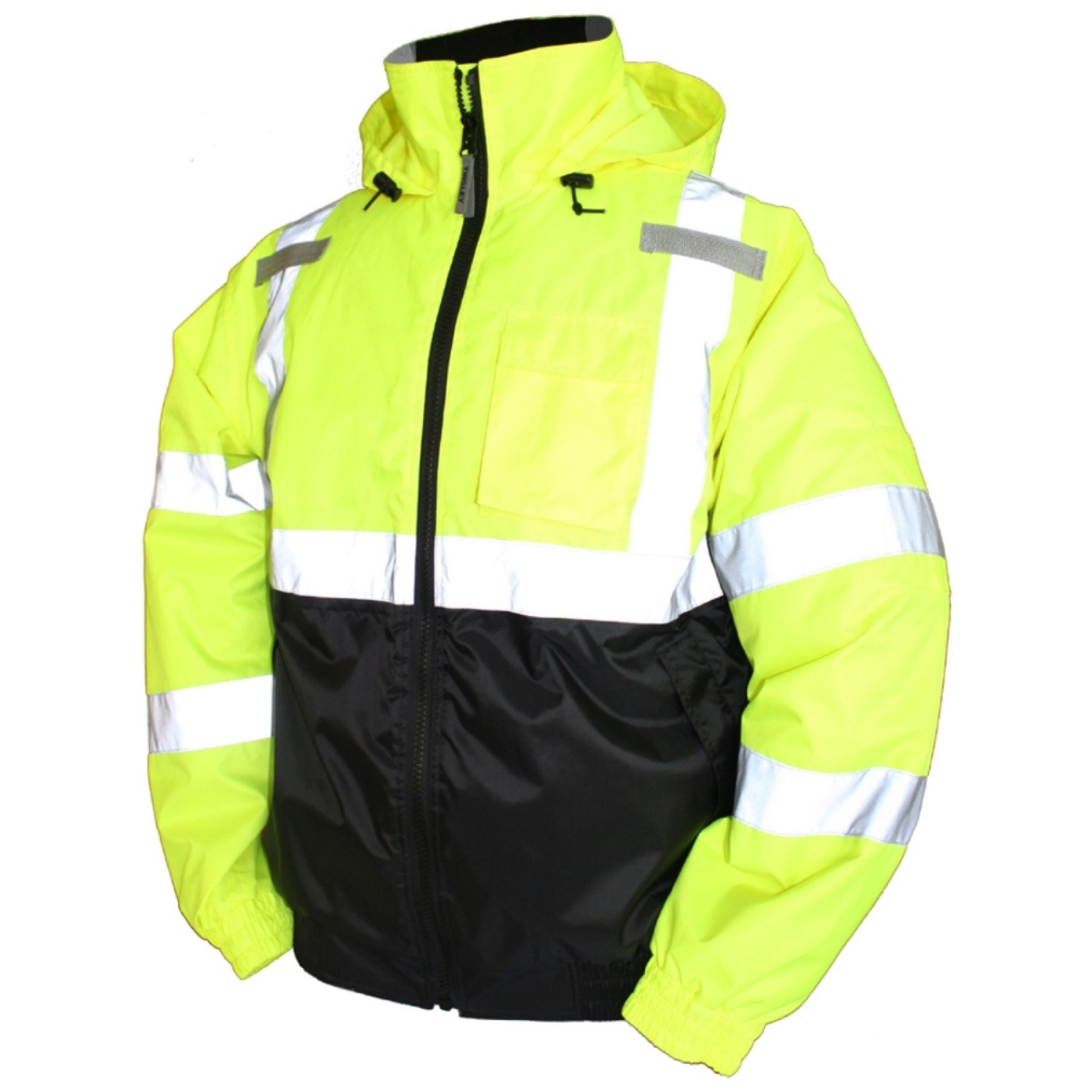 Hi-Vis Bomber Jacket, Class 3, Yellow, X-Large by TINGLEY
