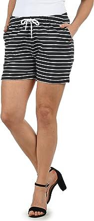 Desires Lena Pantalón De Chándal Corto Sweat- Shorts para Mujer ...