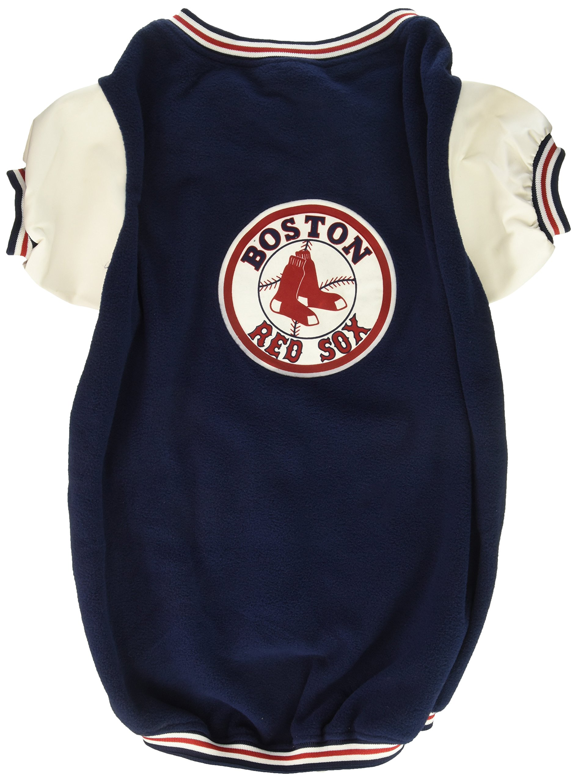 Sporty K9 Boston Red Sox Varsity Dog Jacket, X-Large