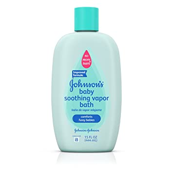 johnsons baby soothing vapor bath for colds