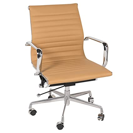 Eames inspired office chair Beautiful Office Image Unavailable Image Not Available For Color Eames Style Executive Leather Office Chair Amazoncom Amazoncom Eames Style Executive Leather Office Chair Brown Home