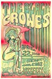 Llp The Black Crowes New Orleans 2005 Original JazzFest Concert Nude Art Poster 11.5 x 17.5 inches on Card Stock