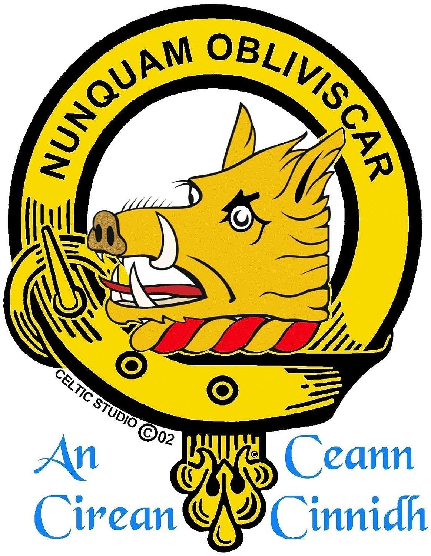 MacIver Scottish Clan Crest Cufflinks