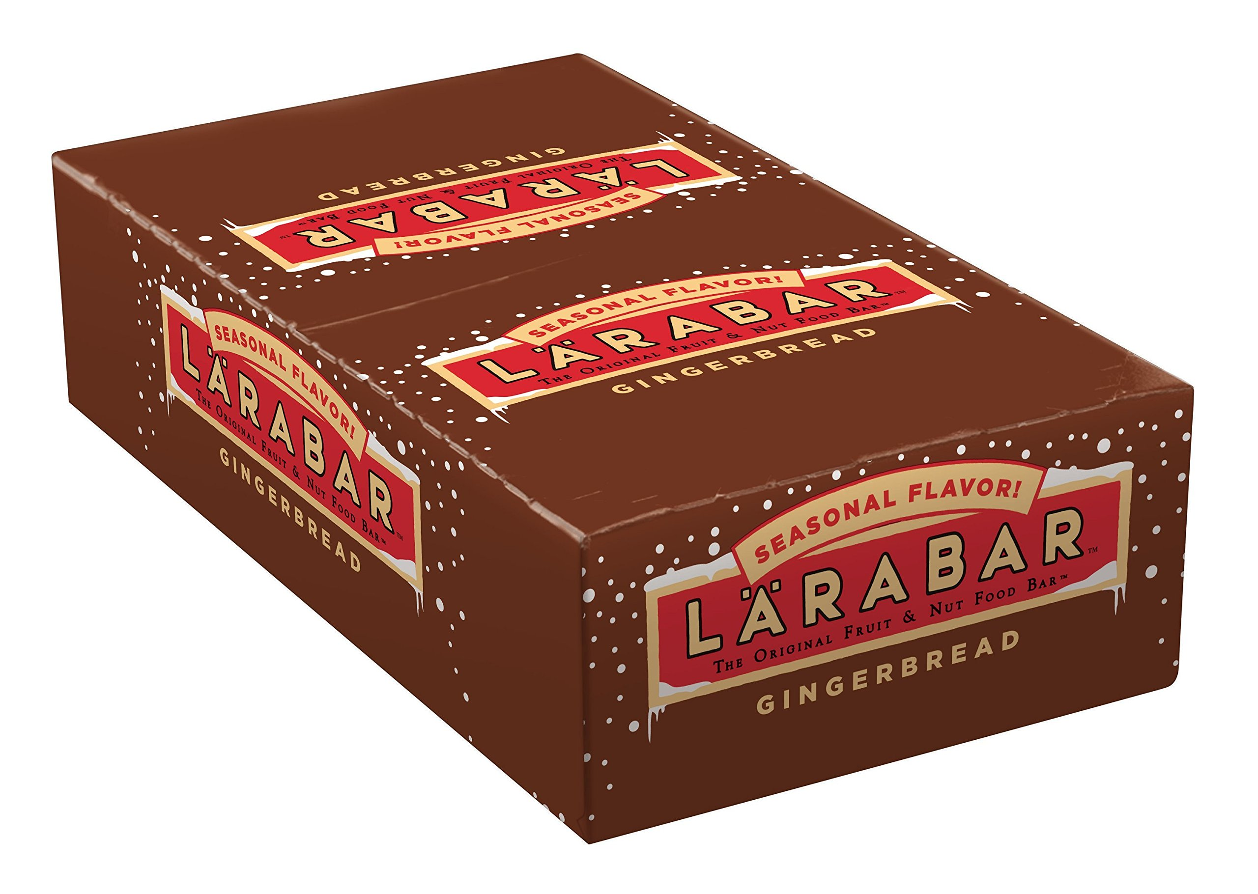 Larabar The Original Fruit and Nut Food Bar Gingerbread, 25.6 Ounce by LÄRABAR