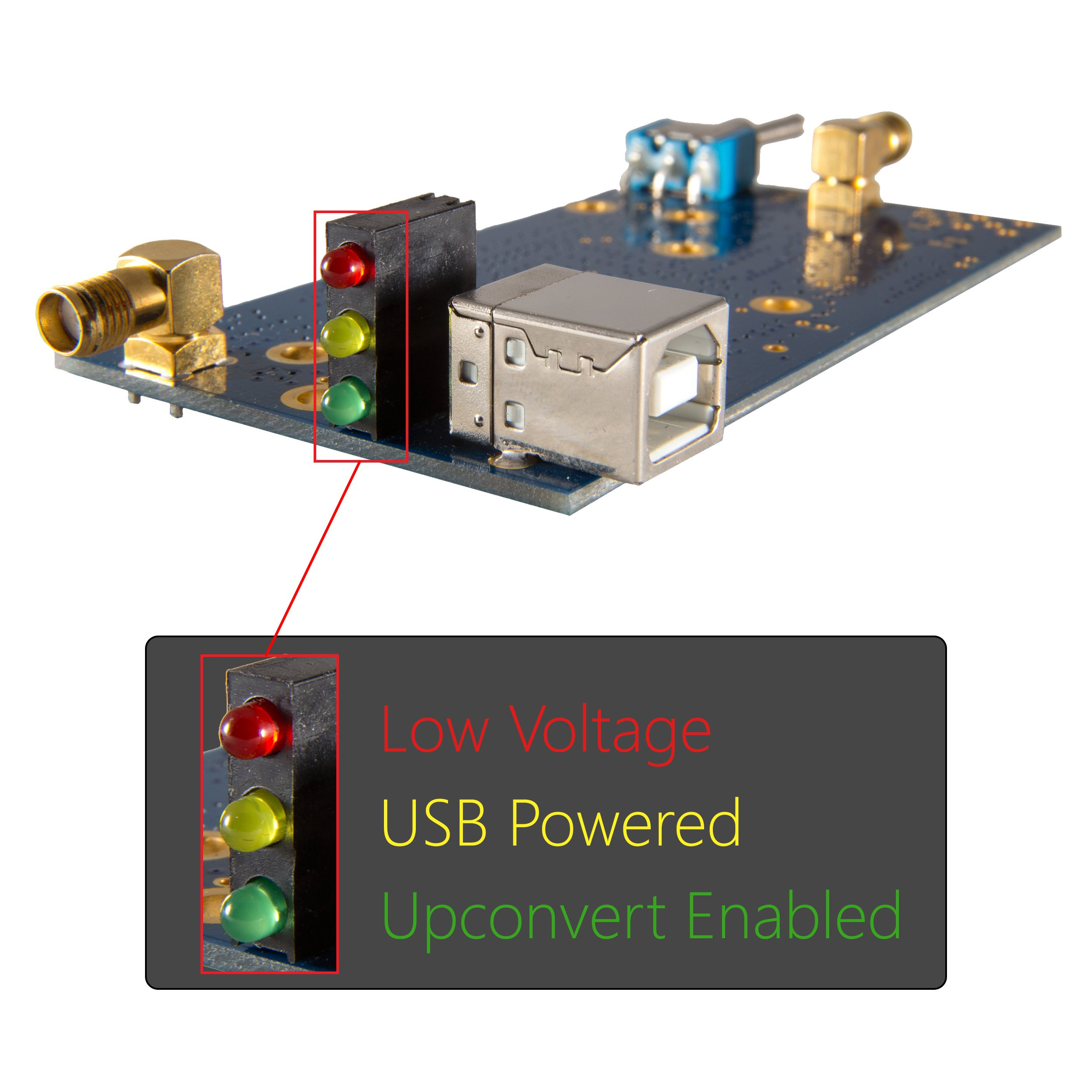 NooElec Ham It Up v1.3 - NooElec RF Upconverter for Software Defined Radio. Works with Most SDRs Like HackRF & RTL-SDR (RTL2832U with E4000, FC0013 or R820T Tuners); MF/HF Converter with SMA Jacks by NooElec