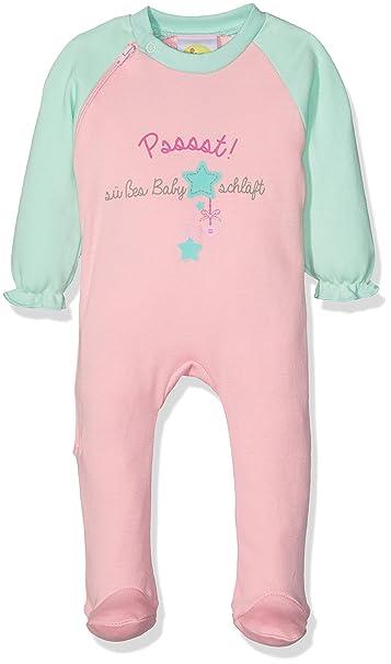 DIMO-TEX Babystrampler Girl, Pijama para Bebé-Niñas, Mehrfarbig (rosablau 59), 62 cm: Amazon.es: Ropa y accesorios