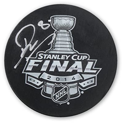 Drew Doughty Signed Autographed Puck 2014 Stanley Cup Final LA Kings Steiner