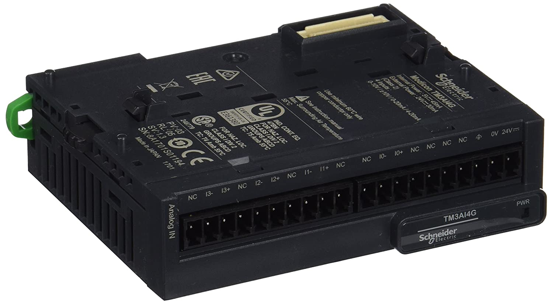 Schneider electric tm3ai4g module TM3, 4 entré es analó gicas 4entrées analógicas