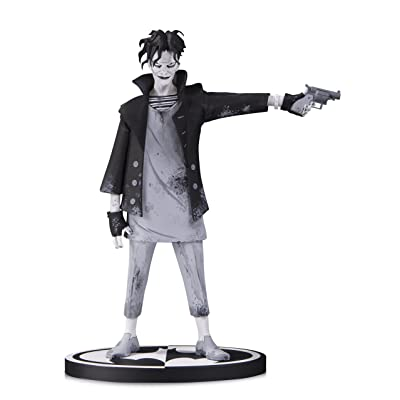 DC Collectibles Batman Black & White: The Joker by Gerard Way Resin Statue: Toys & Games