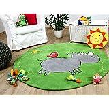 Kinderteppich die lieben sieben  Die Lieben Sieben LS -2195-01R Kinderteppich 130 cm, rund: Amazon ...