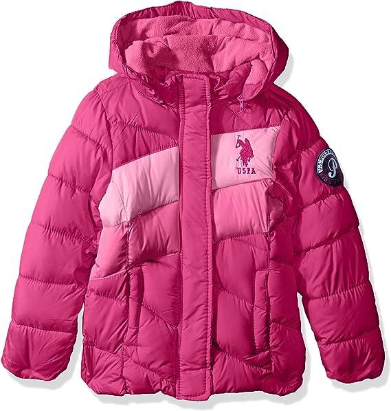 Polo Assn U.S Girls Midweight Bubble Jacket US Polo Association O/_UB64H