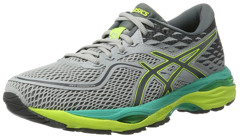 gris (Mid gris   Carbon   Safety jaune) ASICS Gel-Cumulus 19, Chaussures de Running Femme 37 EU