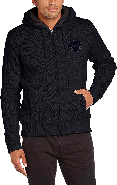 Schott Hombre suéter Not Applicable, Negro (Noir), (Talla del Fabricante: Small)