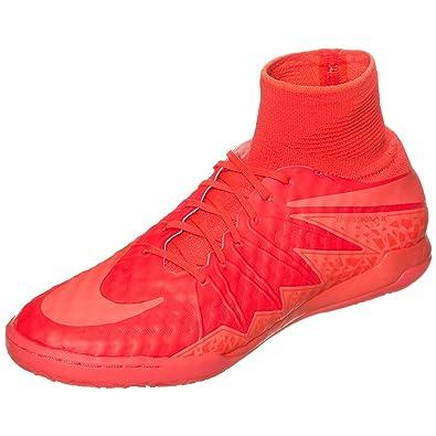 88dc59985f766 Nike Hypervenomx Proximo IC Mens Football Boots 747486 Soccer Cleats (US  12.5, Bright Crimson Hyper Orange 688)