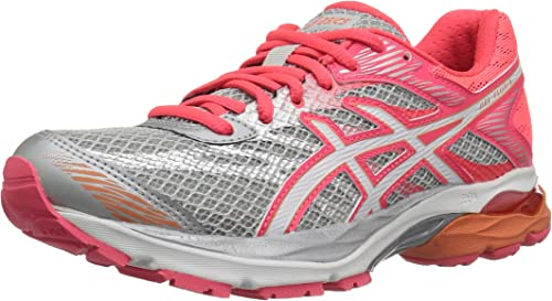 ASICS Womens Gel Flux 4 Running Shoe, Mid GreyWhiteDiva