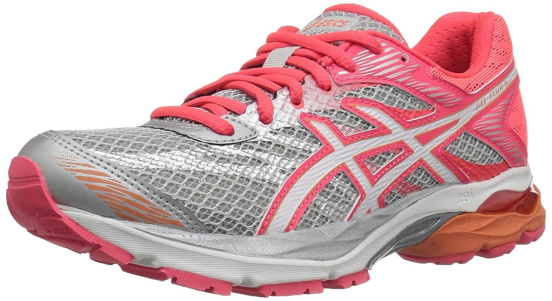 ASICS Women's Gel-Flux 4 Running Shoe B06WV995HF 8.5 D US|Mid Grey/White/Diva Pink