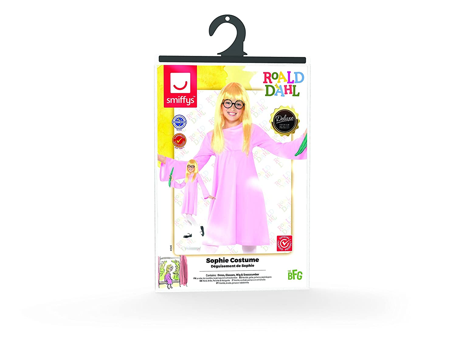Amazon.com: Smiffys Officially Licensed Roald Dahl Deluxe Sophie Costume: Clothing