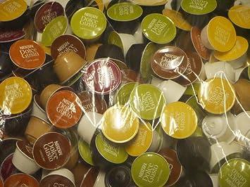 Nescafé dolce gusto variety pack 50 capsules 5 saveurs vendus en