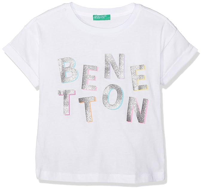 United Colors of Benetton Camiseta de Tirantes para Ni/ñas