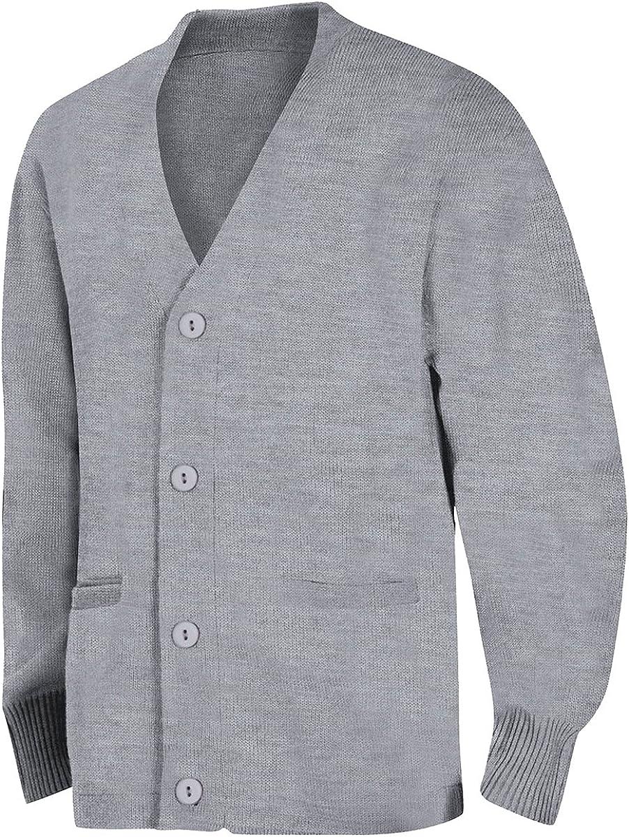 Classroom School Uniforms Womens Adult Unisex Cardigan Sweater Cardigan Sweater