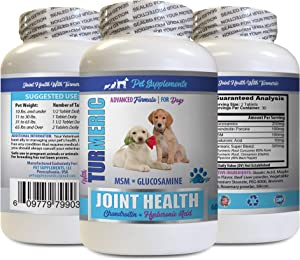 PET SUPPLEMENTS Extend Joint Care Dogs - Turmeric Joint Health for Dogs - Advanced Formula for Joints - Dog Turmeric Chews Organic - 1 Bottle (60 Tablets)