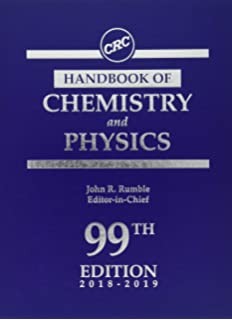 CRC Handbook of Chemistry and Physics, 98th Edition: John