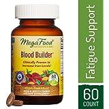 MegaFood - Blood Builder, Energy Boosting Iron Supplement, 60 Tablets