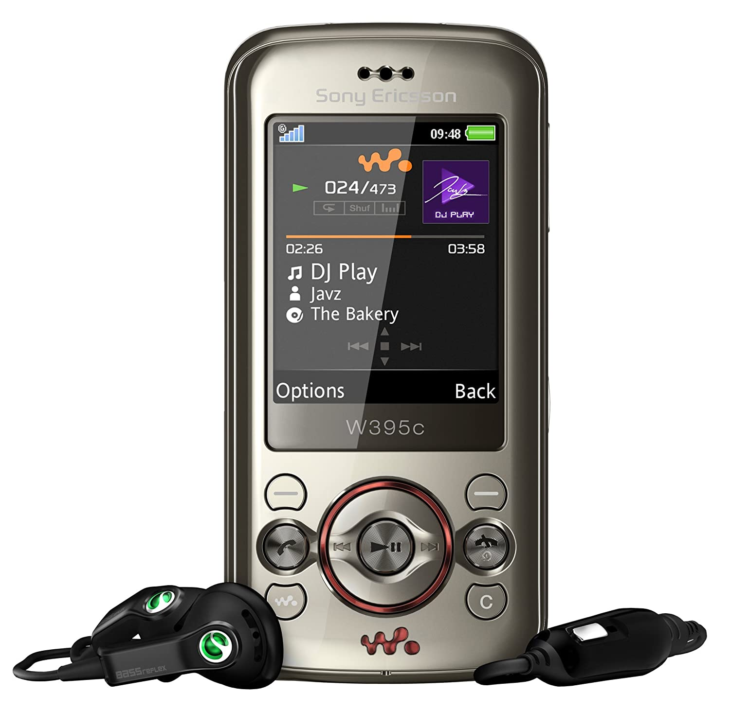 Amazon Unlocked Sony Ericsson W395 W395i Sanrio Walkman Quadband GSM Phone with 2 0 MP Camera and Video calling Pink International phone Cell