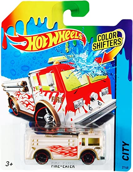 Amazon.com: Hot Wheels Color Shifters Fire-Eater (Fire Engine ...