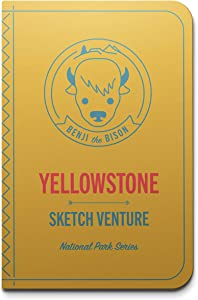 My Sketchventure Yellowstone National Park Kids Book - Connect Children to Nature with Art, Learn About Plants and Animals, Drawing Activities - Old Faithful, Geyser Basin, Tower Fall