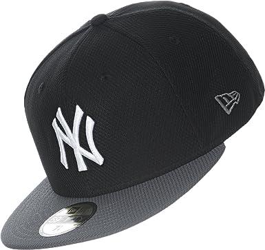 New Era Season DE 5950 NY Yankees Gorra 7 black/gray: Amazon.es ...