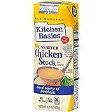 Kitchen Basics No Salt Chicken Stock, 8.25 oz (Case of 12)
