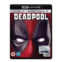 Deadpool (4K UHD + Blu-ray + Digital Download) (2-Disc Set) (Fully Packaged Import)