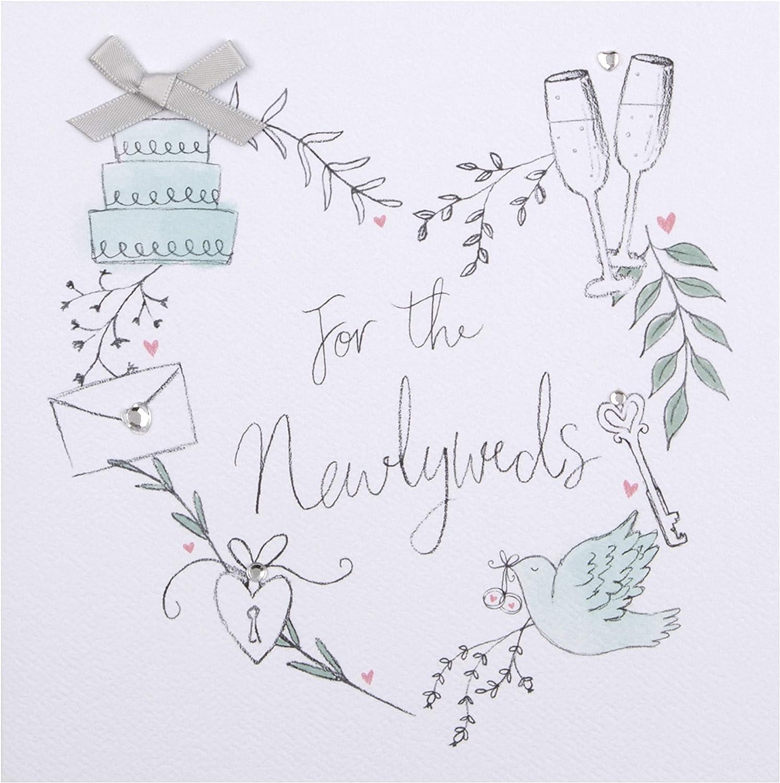 bridal shower card wedding card congratulations card elegant wedding card Shadow wedding cake card card for newlyweds