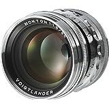 Voigtlander Nokton 50mm f/1.5 Aspherical Standard Manual Focus Lens - Silver