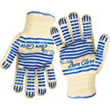 Gulife EN407 Standard Oven Gloves, 2 Gloves with Standard Length Cuff