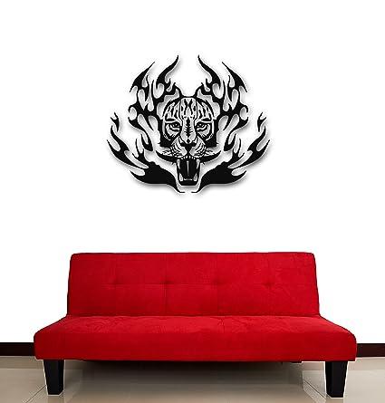 Amazon com: Wall Stickers Vinyl Decal Tiger Tribal Tattoo