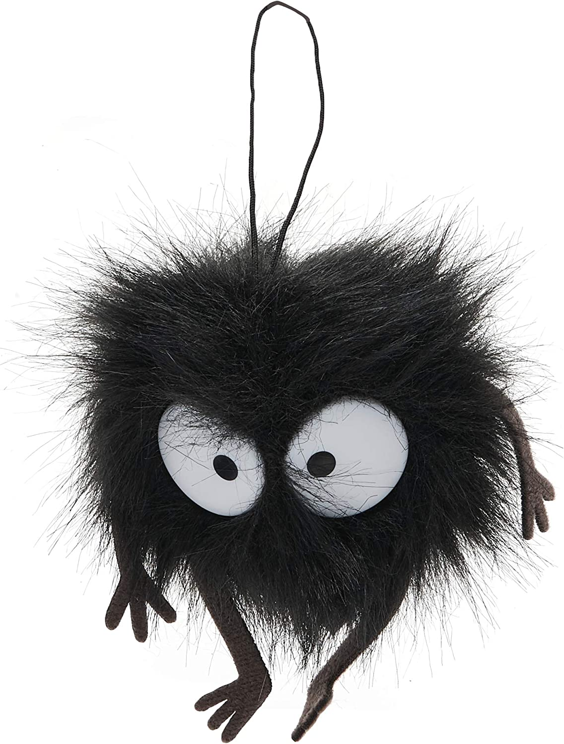 Amazon Com Gund Studio Ghibli Spirited Away Soot Sprite Window Cling Plush 1 5 4051581 Gund Toys Games