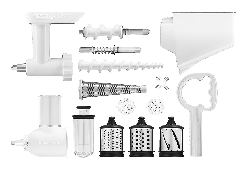 KitchenAid 5KSMFPPC Kit de 3 Accessoires Blanc